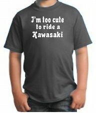 CUTE KAWASAKI HATER KID SHIRT MOTORCYCLE DIRT BIKE FUN