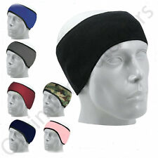 Fleece Headband Ear Warmer Ski Snowboard Running Hat UK