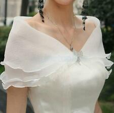 Free Shipping Wedding Prom Cocktail Bridal Seersucker Shrug Bolero Wrap Shawl