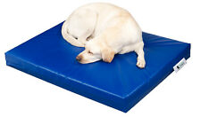 Chew Resistant Dog Bed Waterproof Heavy Duty Kennel Run Tough Robust Easy Clean