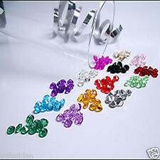 4.5MM 1000 WEDDING TABLE SCATTER CRYSTALS DIAMOND DECORATION CONFETTI 22 COLORS
