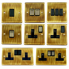 G&H Antique Bronze Light Switches, Plug Sockets, Toggle & Dimmer Switches