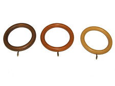 EXTRA LARGE Wooden Curtain Pole Rings For 50mm Poles Buy Any Amount Free Postage
