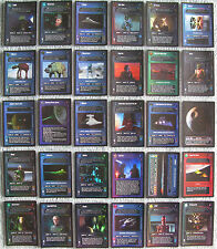 Star Wars CCG Reflections 1 Rare Foil Cards Part 3/4 (Dark Side)