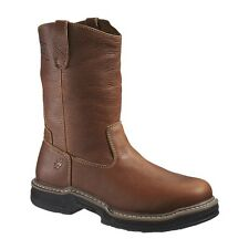 MENS WOLVERINE RAIDER SOFT TOE BROWN WELLINGTON BOOTS SIZE 7-15 W02429