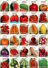 Vegetables and fruits Seeds TOP QUALITY 29 varieties to choose Tomato melon etc