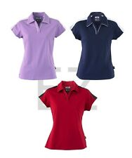 ADIDAS GOLF NEW Size S-2XL Ladies Climalite Colorblock Stretch Womens Polo Shirt