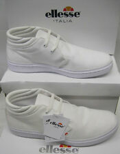 """SALE: Ellesse Gent's Off White Canvas Casual Fashion Laced Boots """"SORRENTO"""""""