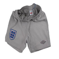 New England Umbro Junior Boys Vapour Woven Football Training Shorts 7-13 Years