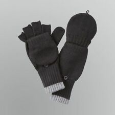 Joe Boxer Women's Convertible Fingerless Gloves Mittens - Black Brown or Gray