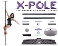 ★The Full X-Pole New Version Dance Range - Chrome, Brass & Titanium Gold ★
