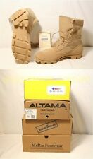 NIB US Military Army COOLMAX Desert Tan COMBAT BOOTS Sizes 4-14 $146 USA MADE