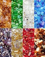 CZECH SEED BEAD MIXES MULTI SHAPE MULTI COLOR and FINISHES 25grams FREE SHIPPING