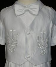 Baby Boy Communion Christening Baptism Outfit Suit size XS-XL, 2T-4T (0M-36M+)