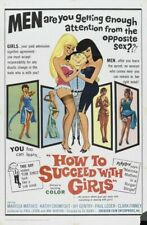 HOW TO SUCCEED WITH GIRLS 01 B-MOVIE REPRODUCTION ART PRINT CANVAS A4 A3 A2 A1