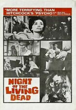 NIGHT OF THE LIVING DEAD 02 B-MOVIE REPRODUCTION ART PRINT A4 A3 A2 A1