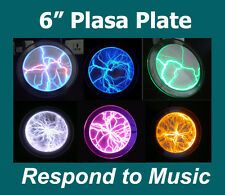 "Lumin Disk 6"" Plasma Plate Light Show Party Home Decor Respond to Music or Touch"