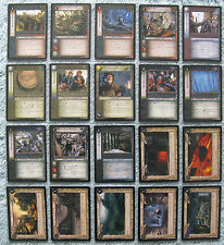 Lord of the Rings TCG Treachery & Deceit Uncommon Cards Part 2/2 (CCG LOTR)