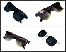 New Designer Clubmaster Fashion Sunglasses Mens Womens Black White Brown Tort AU
