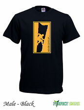 Rock Climbing Wall Climb Indoor Outdoor Mens T-SHIRT M-3XL FREE P&P - black