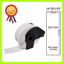 Brother - DK-11201 (29mmx90mm) 400 Labels Compatible Address / Shipping Labels