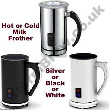 ELECTRIC MILK FROTHER. HOT & COLD MILK. CAPPUCCINO, LATTE, HOT CHOCOLATE MAKER