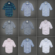 New Abercrombie & Fitch Classic Plaid Men Shirt XS S M L XL XXL Muscle