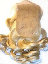 Full Lace Weave Closure 100% Human Indian Remy Remi Quality Hair Partial Wig