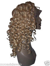 100% Indian Remi Remy Lace / Thin Skin Wig Wigs #613/26 Custom Made High Quality