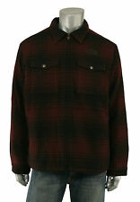 Men's North Face Ozark Red Plaid Wool Jacket New $350