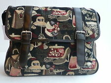 Ladies Tapestry Bag, Hats, shoes and bags (2163) Black
