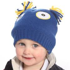 Girls Boys Kids Monsters Animal Design Hats. Novelty Winter Ski Hat