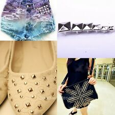 New Punk Stylish Studs Rock Rivet Spike For Clothing/Bags/Shoes Craft