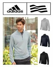 Adidas Golf Mens Pullover 1/4 Zip Stretchy Windshirt Jacket Wind Shirt S-3XL NEW