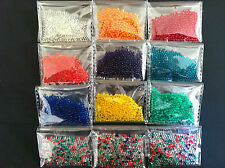 40g( 6packets) Water Balls Crystal Pearls Jelly Gel Beads for orbeez toys refill
