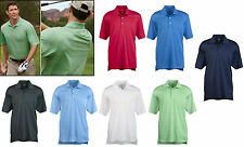 Adidas Golf Mens Polo Climalite Micro Textured Stripe Wicking Sport Shirt S-3XL