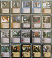 Lord of the Rings TCG Choose a Siege of Gondor Rare Card from List Part 1/2 LOTR