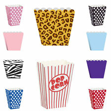 LOOT TREAT POPCORN FAVOUR  BOXES KIDS ADULTS  BIRTHDAY HEN PARTY BABY SHOWER