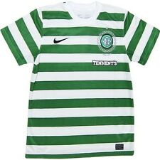Nike Celtic adults home football soccer 2012-13 hoops fit-dry s/s Shirt 479346
