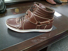 Brown High Top Boots Black high top casual sneaker shoe boot by D.ALDO 8.5-13 #2