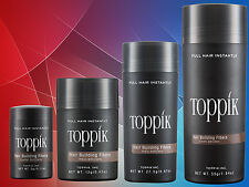 TOPPIK Hair Fibres - All Sizes - All Colours - Makes Thinning Hair Look Thick