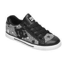 DC - CHELSEA SE Womens Shoes (NEW) Black White Star Stars SIZES 5 & 6 Free Ship!