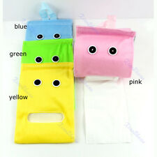 Hanging Tissue Holder Dispenser Cover Plush Cloth Toilet Paper Container Box Hot