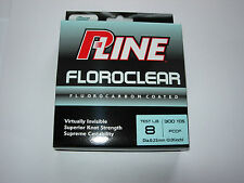 P LINE FLOROCLEAR FISHING LINE 300yds ALL SIZES