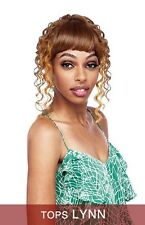 LYNN BY VANESSA SYNTHETIC LONG TOPS BRAIDED LACE WIG HEAT WAVE 400F SUPER VOLUME