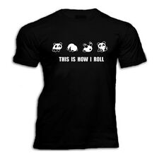 Cute PANDA THIS IS HOW I ROLL   T SHIRT