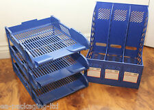3 COMPARTMENT OFFICE HOME ORGANISER AND 3 TIER DESK TIDY TRAY