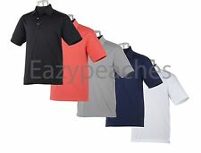 CALLAWAY GOLF Mens Size S-4XL Double Knit Micro Pique Knit Chev Polo Sport Shirt
