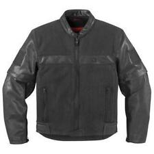 Icon One Thousand 1000 Outsider Convertible Motorcycle Jacket Black