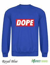 Dope  Mens  Micky Mouse Hands Mac Obey  Sweatshirt  S-2XL - royal b III